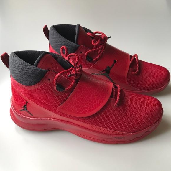 cfb235ea96445 ... air jordan super.fly 5 new red shoes super fly